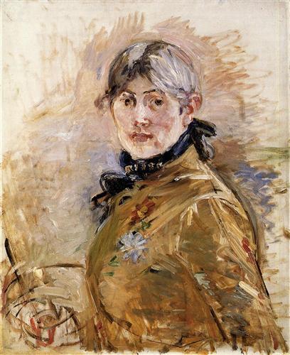 Self-Portrait - Berthe Morisot