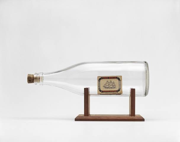 Ship in a Bottle, 1963 - Billy Apple