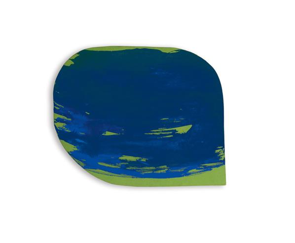 Blau auf Grün, 1965 - Blinky Palermo