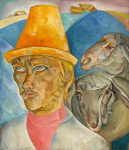 The Shepherd in the Mountains, 1920 - Boris Grigoriev