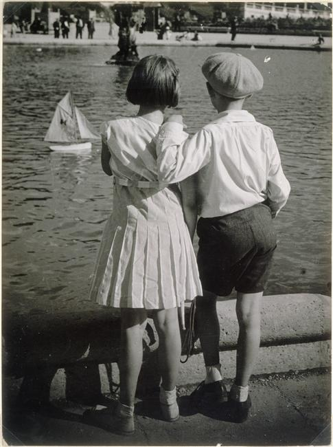Bassin du Luxembourg, 1930