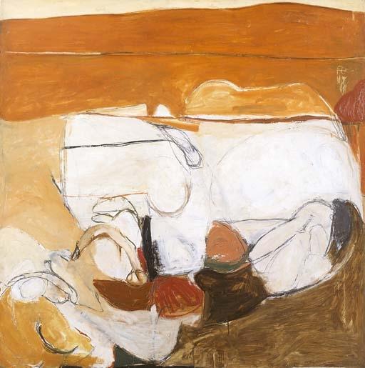 Sin título caliente Pintura - Brett Whiteley