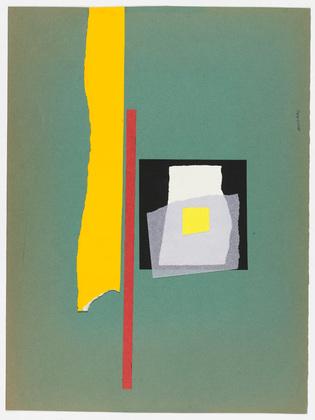 Untitled (Graphic Composition), 1951 - Bruno Munari