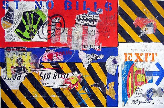Life is a Traffic Jam, 2000 - Burhan Dogancay