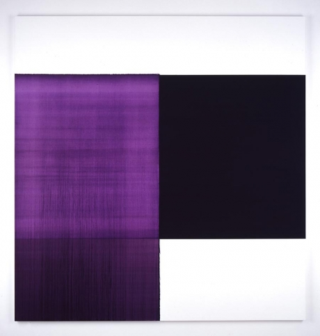 Exposed Painting Dioxazine Violet, 2006 - Callum Innes