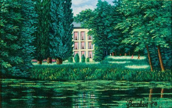 Maison sur la riviere, 1989 - Camille Bombois