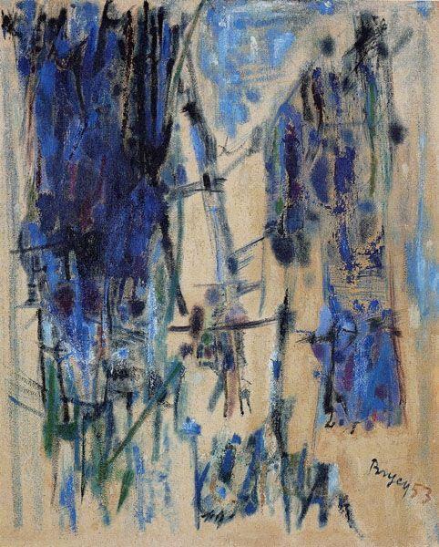 Sable de bois, 1953 - Camille Bryen