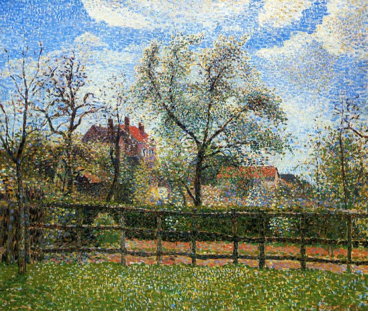 camille pissarro impressionist and impressionism on pinterest
