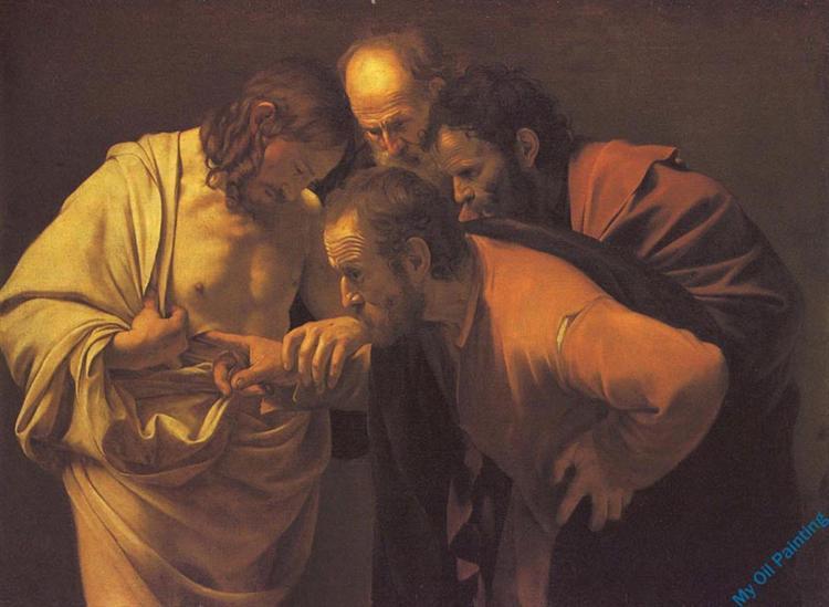 Неверие Святого Фомы, c.1602 - Караваджо