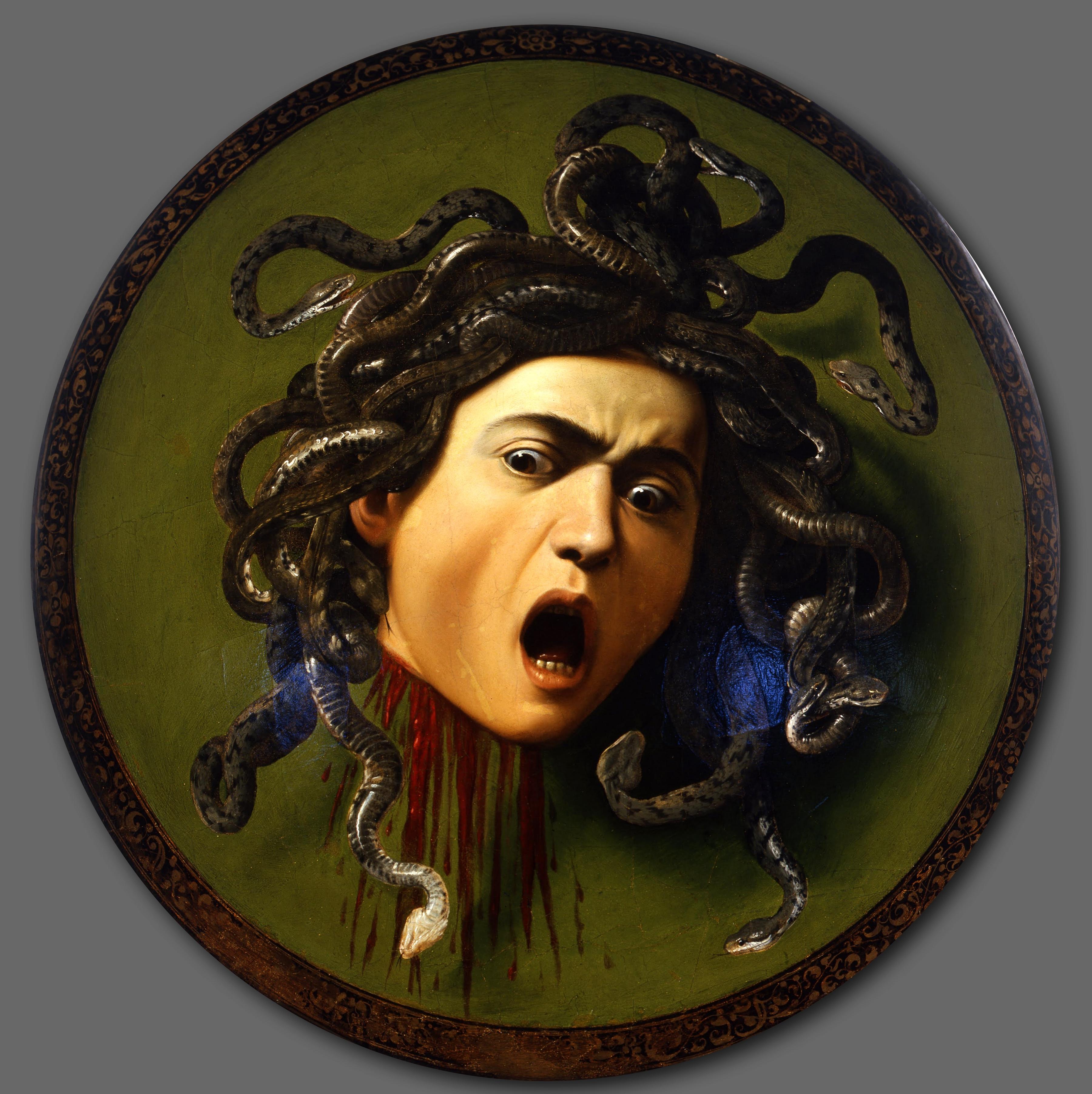 Medusa - Caravaggio - WikiPaintings.org