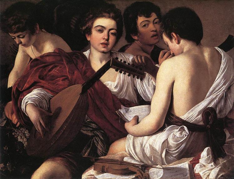 Musicians, c.1595 - Caravaggio