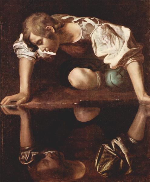 Narcissus, c.1599 - Caravaggio