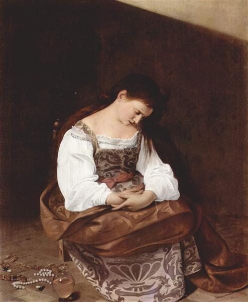 Penitent Magdalene, c.1597 - Caravaggio