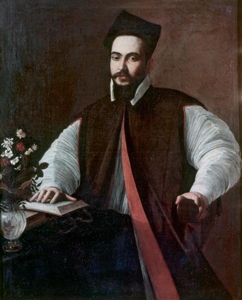 Portrait of Maffeo Barberini, c.1597 - Caravaggio