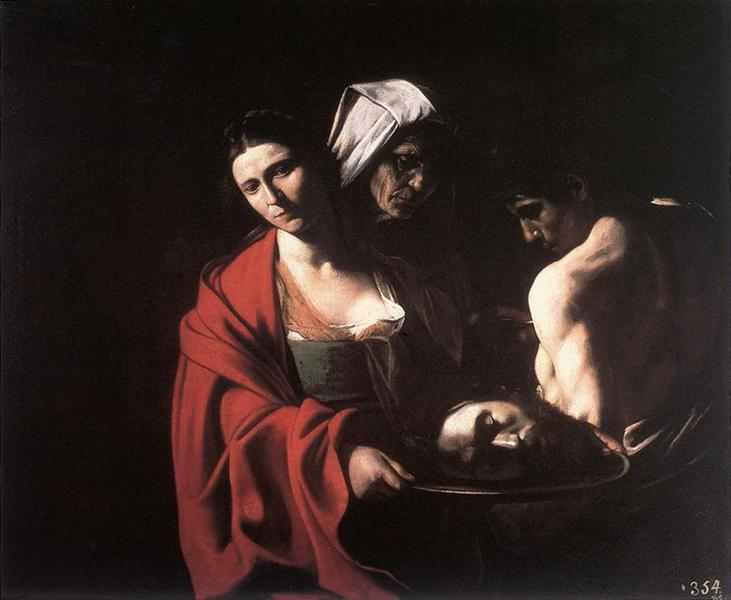 Salome with the Head of John the Baptist, 1609 - Caravaggio