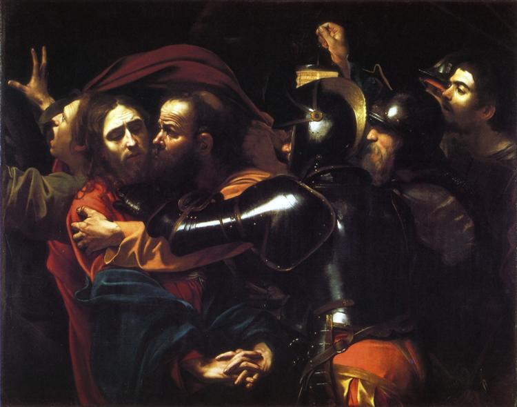 Taking of Christ, 1602 - Caravaggio