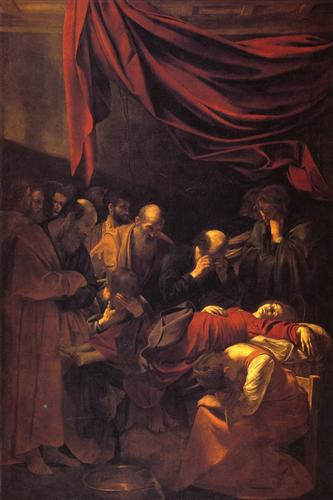 The Death of the Virgin - Caravaggio