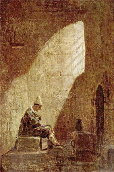 Ash Wednesday, 1860 - Carl Spitzweg
