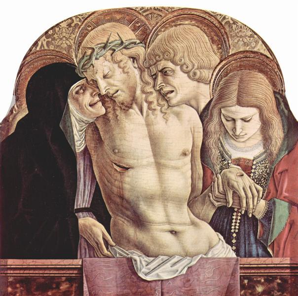 Lamentation of Christ, 1473 - Carlo Crivelli
