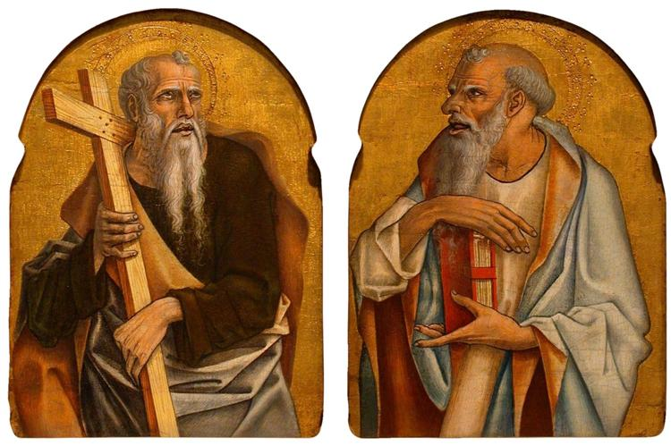 Two Apostles, 1475 - Carlo Crivelli