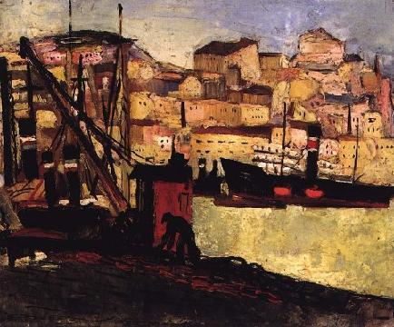 Barcos no Rio, 1930 - Carlos Botelho