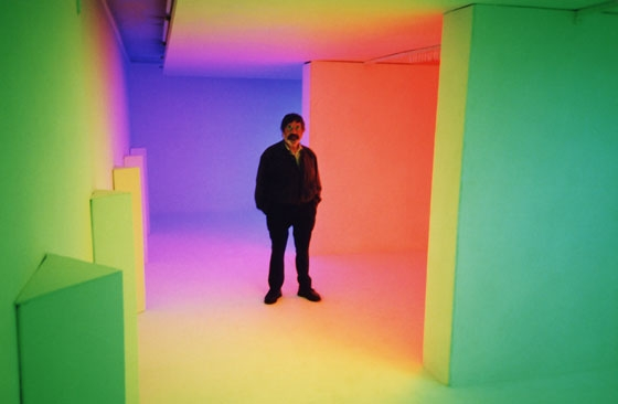 "Chromosaturation (from the exhibition ""Acontecer Cromático""), 1999 - Carlos Cruz-Diez"