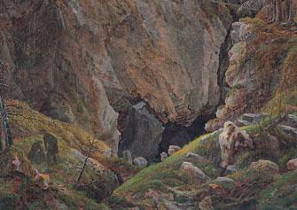 Canyon in the resin, 1811 - Caspar David Friedrich