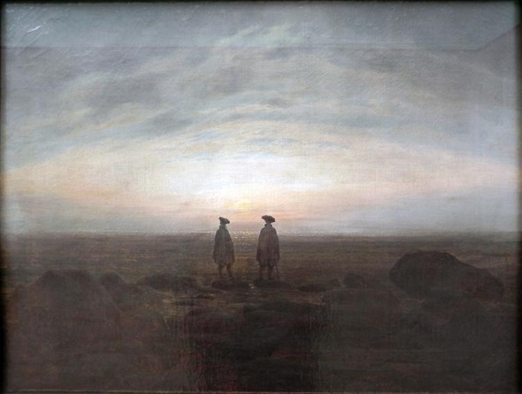 Two Men by the Sea, 1817 - Caspar David Friedrich