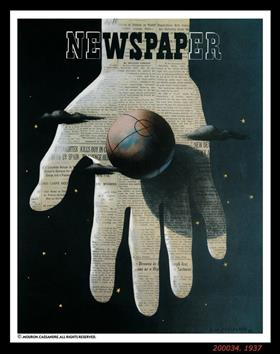 NEWSPAPER - Cassandre