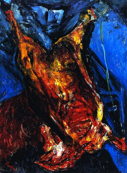 Carcass of Beef, c.1924 - Chaim Soutine