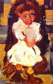 Portrait of a Child - Chaim Soutine