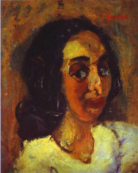 Portrait of a Woman, c.1940 - Chaïm Soutine