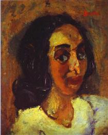 Portrait of a Woman - Chaim Soutine