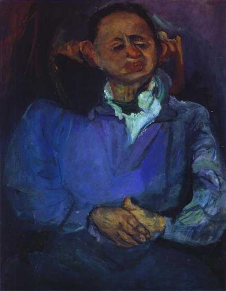 Portrait of the Sculptor, Oscar Miestchaninoff, c.1923 - c.1924 - Chaïm Soutine