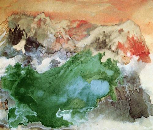 Mist at Dawn, 1974 - Чжан Дацянь