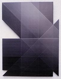 Forme découpée, 1991 - Charles Bezie