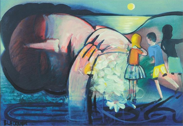 Sleeping Figure - Charles Blackman