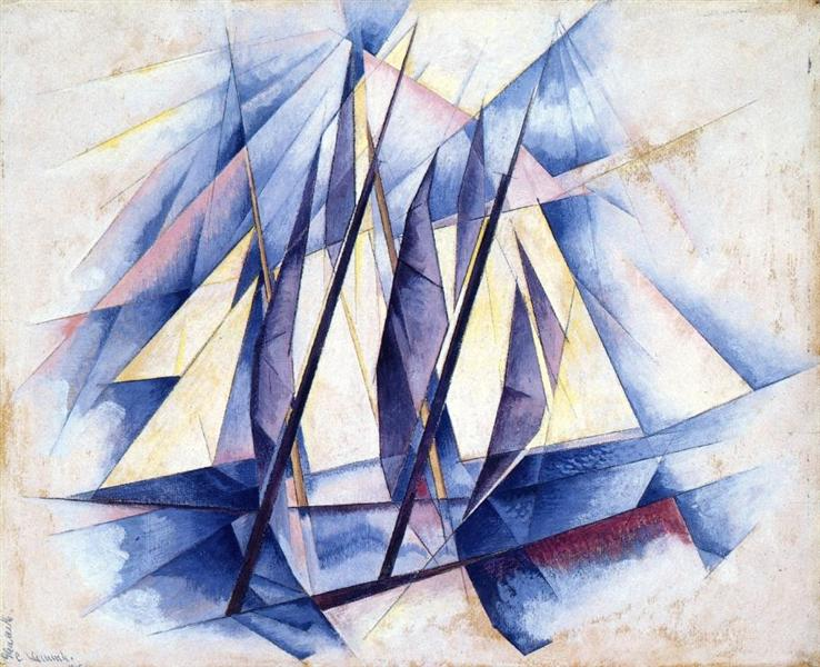 Sail: In Two Movements, 1919 - Charles Demuth