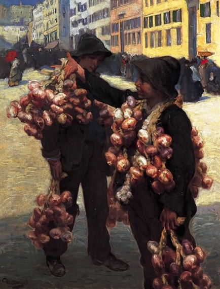 The Onion Sellers - Charles Hermans