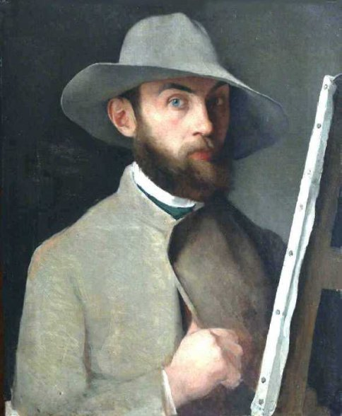 Self-Portrait, 1883 - Charles Maurin