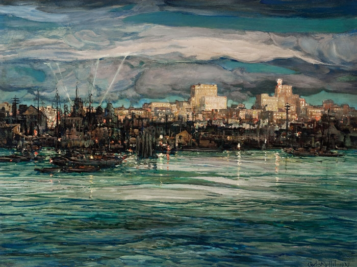 Harbor Night, 1937 - Charles Reiffel