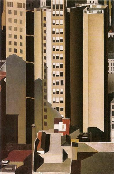 Skyscrapers - Charles Sheeler
