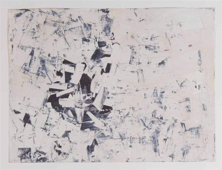 Untitled (Free Structures), 1960 - Charlotte Posenenske