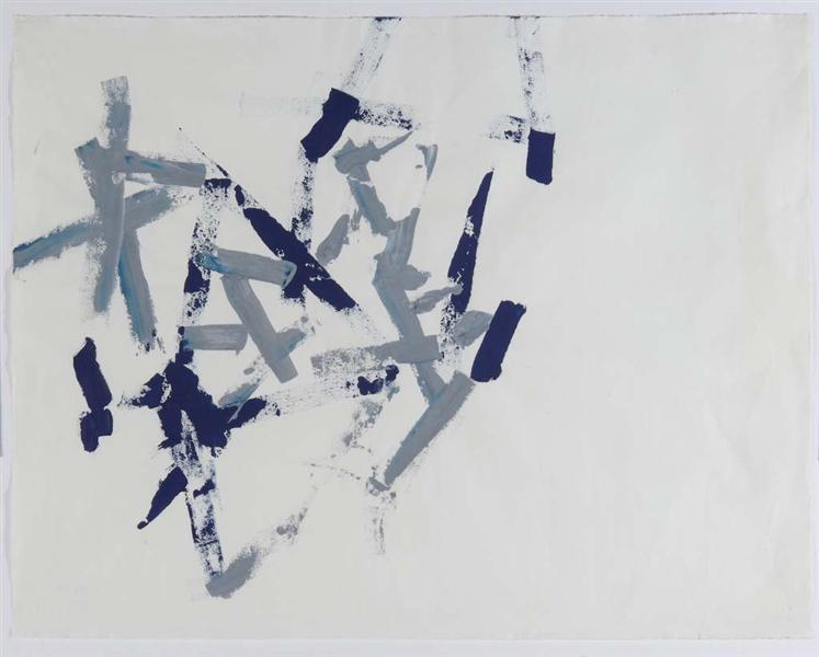 Untitled (Free Structures), 1962 - Charlotte Posenenske