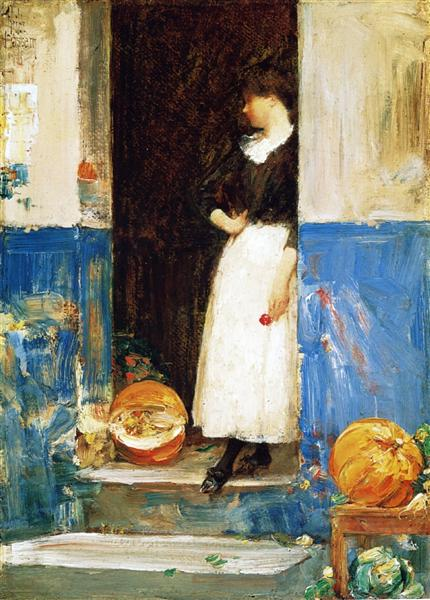 A Fruit Store, 1888 - 1889 - Childe Hassam
