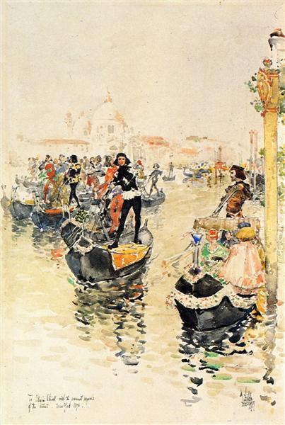 A Venetian Regatta, 1891 - Childe Hassam