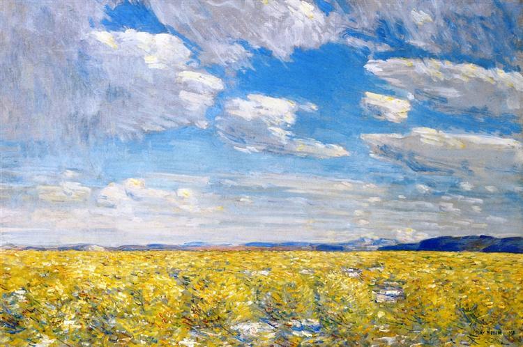 Afternoon Sky, Harney Desert, 1908 - Childe Hassam