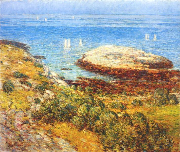 Early morning calm, 1901 - Childe Hassam