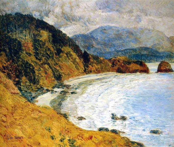 Ecola Beach, Oregon, 1904 - Childe Hassam