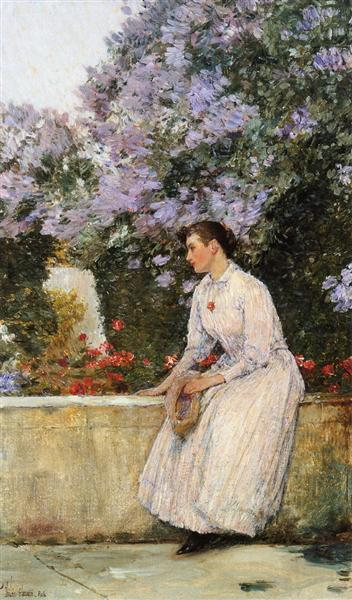 In the Garden, 1888 - 1889 - Childe Hassam